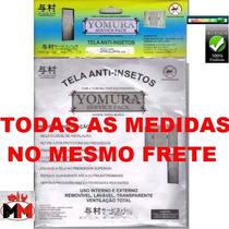 Tela Mosquiteira Anti Inseto/mosquito Janela Todas As Medida