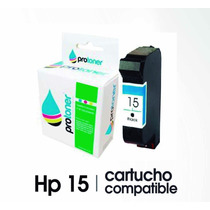 Cartucho Hp 15 Negro