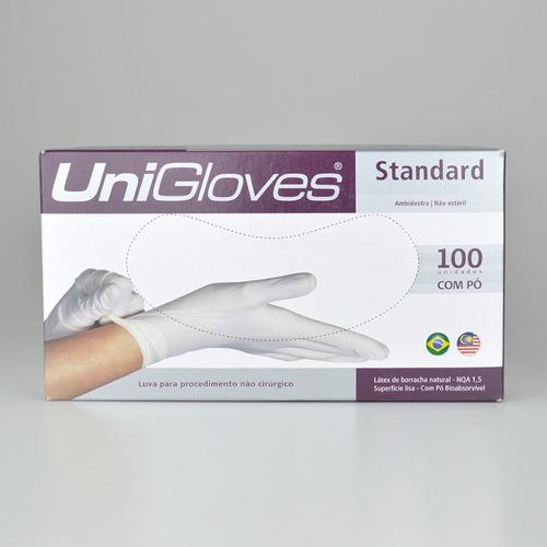 Kit C 10cx Luva Procedimento Nao Cirurgico C pó P Unigloves - R  199,99 em  Mercado Livre 2244b8da32