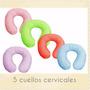 * Cuellox5 Descanso Cervical Adulto Con Funda,viaje,oficina