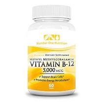 Número Uno Nutrición Vitamina B12 5000 Mcg 60 Recuento