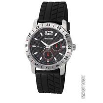 Relógio Magnum, Cronos, Pulseira Borracha Ma31168t