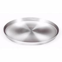 Forma De Pizza De Alumínio Diamentro 40cm