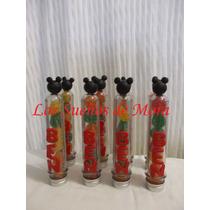 Souvenirs Tubos Tubitos Golosineros Mickey, Kitty, Y Mas