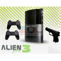 Family Game Completo Forma Ps3 + Juegos 2 Joy Pistola Dde $1