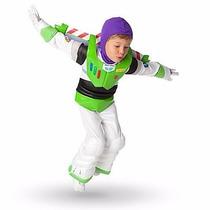 Fantasia Buzz Lightyar Sem Capacete Tam ,5,6 Disney