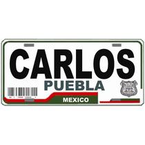 Vende Placas Sticker De Tu Estado Con Nombres, 15 X $ 150.00