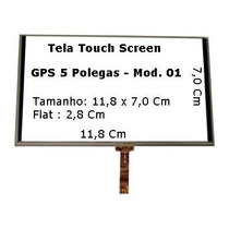Tela Touch Gps Foston Fs 503dt De 5 Pol Original
