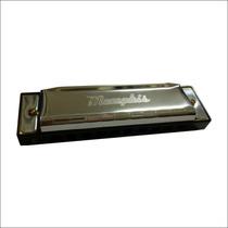 Memphis Armonica T10.4 En Do, Acero Inox.