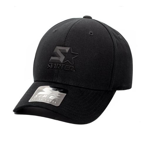 Boné Starter Aba Curva Mini Logo Star 3d Preto - R  149 473f6bf77a4