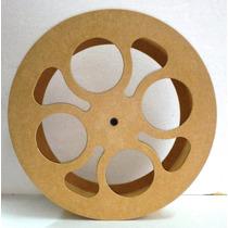 Carretilha Para Pipa De Madeira 45cm Corte/laser