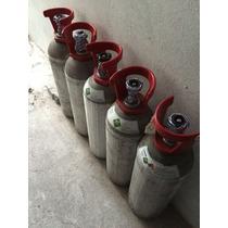 Tanque De Aluminio Lleno De Argon