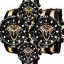 Relógio Invicta Reserve Venom Viper 0974 Gold 0975 C Caixa