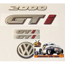 Kit Calcos Vw Gol Gti G1