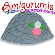 Gorros Tejidos A Crochet Para Niñas O Jovencitas