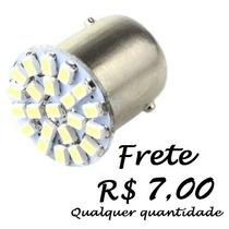 Lampada Luz Ré Placa 1 Polo 22 Led 1156 P21w Frete Fixo 7,00