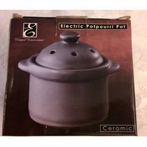 Potpurri Aromatizador Electrico Ceramica Nuevo