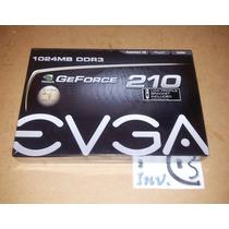 Tarjeta De Video Evga Geforce 210 1gb Ddr3 Low Profile Nueva