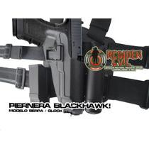 Piernera Estilo Serpa Funda Para Pistola Bereta Modelo 92/96