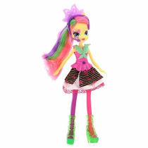 Boneca My Little Pony Equestria Girl Fluttershy Rainbow Rock