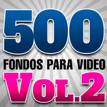 Vol 2 Fondos Animados Para Ediciones D Video Full Hd +regalo
