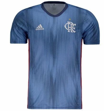 Nova Camiseta Flamengo Frete Grátis 2018   2019 Oficial - R  155 e857cc9a61845
