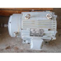Motor Eléctrico 15 Hp Marca Harnischfeger P&h