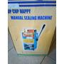 Maquina Selladora Vasos Semiautomática Con 3 Rollos
