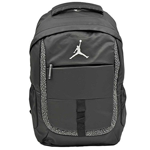 Portátil Nike Air Jordan Negro Mochila Bolsa Para Hombres ...