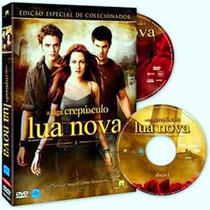 5 - Kit Dvd + Almanaque Saga Crepúsculo Leia O Anuncio Novo