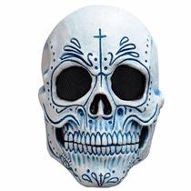 Máscara De Látex Catrin, Calavera Mexicana,máscara De Catrin