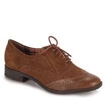 Sapato Oxford Feminino Bottero - Caramelo