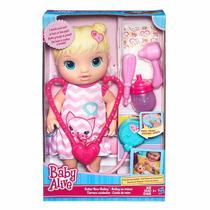 Boneca Bebê Baby Alive Loira Medica Cuida De Mim Hasbro