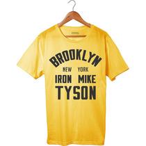 Camiseta Camisa Iron Mike Tyson, Brooklyn