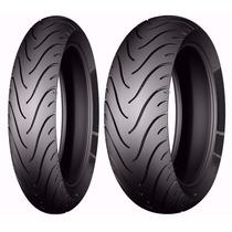Par Pneu 120/70-17 + 160/60-17 Michelin Street Nc 700 Cb 500