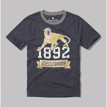 Abercrombie Kids Camiseta Infantil Tamanho 5/6 Meninos