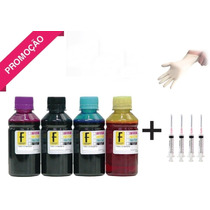 2 Litros Tinta Recarga Cartucho Impressora Hp Lexmark Canon