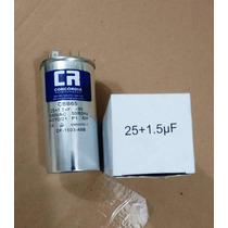 Capacitor Duplo 25 + 1.5uf ±5% 380vac