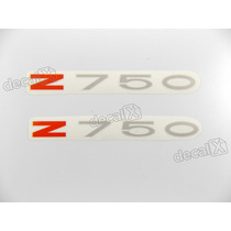 Adesivo Emblema Kawasaki Z750 Vermelho