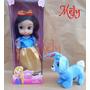 Blancanieves 45 Cm Músical + 1 Mascota Disney Princesas