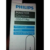 Caja 9 Lamparas Philips Master City White Cdo-tt 100w/828