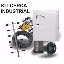 Kit Cerca Elétrica Industrial 1 M P/ 60metros Big Haste
