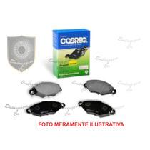 Pastilha De Freio Cobreq Dianteira Peugeot 206 1.6 16v Cc