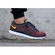 Zapatos Nike Free Flyknit Nsw 5.0 100% Originales Mod 2015