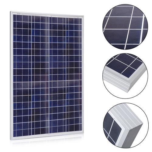 Panel Solar 100w Poli 12v Placa Solar Celda Solar