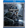 Jurassic World - Combo Blu-ray 3d + Blu-ray + Dvd Original