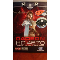Placa De Video Ati Radeon Hd 4670 512mb Gddr3