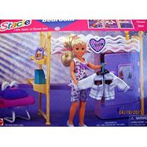 Juguete La Hermana De Barbie Stacie Dormitorio Playset W Es
