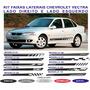 Acessorios Chevrolet Vectra Faixa Adesivo Lateral Kit