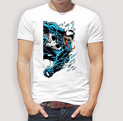Playeras Para Caballero Venom Azul Marvel Comics -   150.00 en Mercado Libre c54b647630141